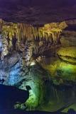 luray的洞穴 库存照片