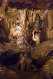 luray的洞穴 免版税库存照片