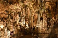 Luray洞穴 库存图片
