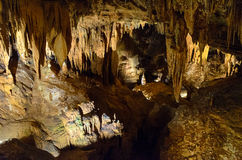 luray的洞穴 图库摄影