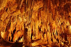 Luray Caverns Stock Image