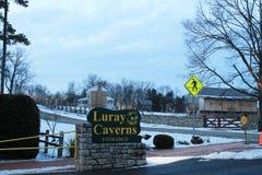 Luray caverns Stock Image