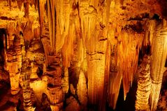 Luray Caverns Formations - Virginia Royalty Free Stock Photography