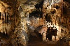 Luray Caverns i Luray, Virginia Arkivbilder