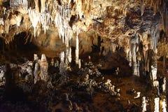 Luray Caverns i Luray, Virginia Arkivfoton