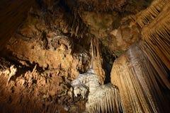 Luray Caverns i Luray, Virginia Royaltyfria Foton