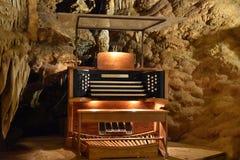 Luray Caverns i Luray, Virginia Royaltyfri Fotografi