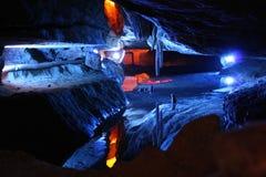 Luray Caverns, la Virginia del nord Fotografia Stock Libera da Diritti