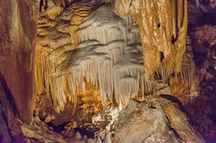 Luray Caverns, la Virginie photographie stock libre de droits
