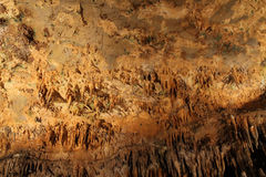 Luray caverns stalactites Royalty Free Stock Image