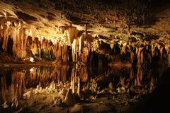 Luray grottor Arkivbild