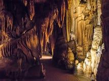 Luray Höhlen lizenzfreie stockfotos