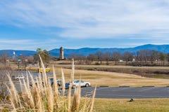 Luray Singing Tower, Virginia, de V.S. royalty-vrije stock afbeelding
