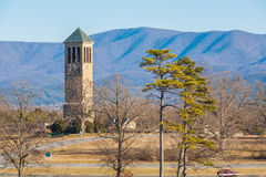 Luray Singing Tower, Virginia, de V.S. royalty-vrije stock fotografie