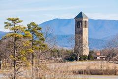 Luray Singing Tower, Virginia, de V.S. stock fotografie
