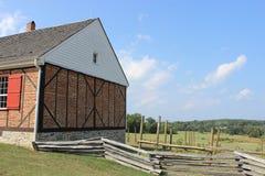 Luray Valley Barn Virginia Fotografie Stock