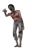 Lurching zombie with outstretched hand Stock Image