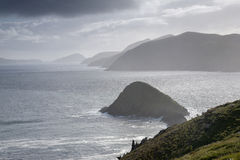 Lure and Blasket Islands, Dingle Peninsula Royalty Free Stock Photography