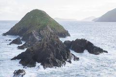 Lure and Blasket Islands, Dingle Peninsula Royalty Free Stock Photos