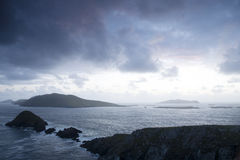 Lure and Blasket Islands, Dingle Peninsula Royalty Free Stock Images