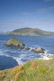 Lure and Blasket Islands, Dingle Peninsula Royalty Free Stock Photo