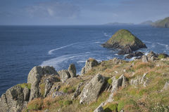 Lure and Blasket Islands, Dingle Peninsula Stock Photography