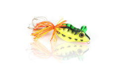 The Forg fishing lure. Royalty Free Stock Photos