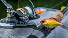 Lure Fishing Royalty Free Stock Images