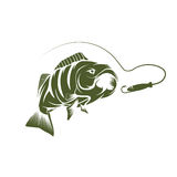 Lure vector design template Stock Image