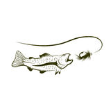 Lure vector illustration Stock Images
