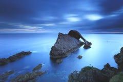 Lurendrejeri vaggar, moray, Skottland arkivbilder