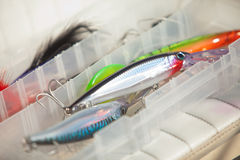 Lures Royalty Free Stock Image