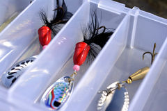 Lures closeup Stock Images