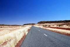 Luritja road Royalty Free Stock Photography