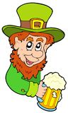 Lurking leprechaun Royalty Free Stock Images