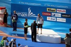 lurz złocisty medal Thomas Zdjęcie Stock