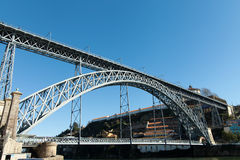 Luís I bridge, Porto, Portugal. Royalty Free Stock Image