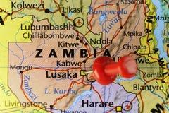 Lusaka kapitał zambiowie ilustracji