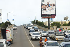 LUSAKA ZAMBIA - December 15, 2008 Royaltyfria Bilder