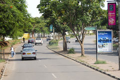 LUSAKA, zambiowie - Grudzień 15, 2008 zdjęcie stock