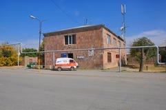 LUSARAT, ΑΡΜΕΝΙΑ - 12 ΟΚΤΩΒΡΊΟΥ 2016: Ταχυδρομείο Στοκ φωτογραφία με δικαίωμα ελεύθερης χρήσης
