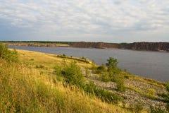 Lusatian lakeland, Alemanha imagens de stock