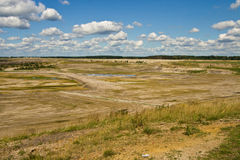 Lusatian lakeland, Alemanha fotografia de stock royalty free