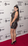 Luscious Ariel Winter Makes a Provocative Entrance at the 2017 Tribeca Film Festival Stock Photo