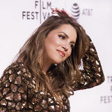 Luscious Arrival at 2017 Tribeca Film Festival Stock Image
