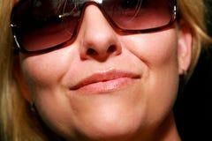 Luscious Lippen lizenzfreie stockfotografie