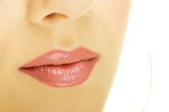 Luscious Lips Stock Photography