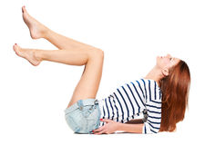 Luscious long legs Royalty Free Stock Photos