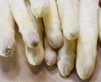 Luscious mature white asparagus Stock Photography