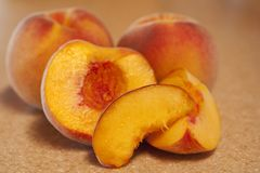 Luscious Peaches Royalty Free Stock Photos